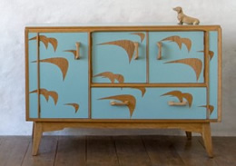 Lucy Turner bird sideboard