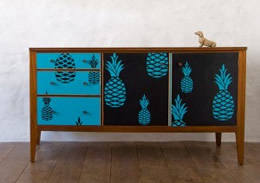 Lucy Turner pineapple sideboard