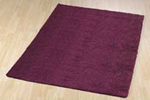 Plain coloured rug