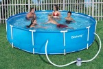 Steel frame pool