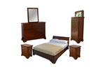 Louvre bedroom furniture set