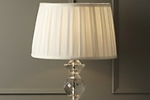 Table lamp and lamp shade