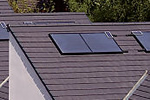 Solar heating package