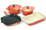 Le Creuset 4 piece cookware set