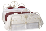 Antique scroll beds