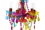 Multi colour gypsy chandelier