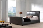 Leather double beds