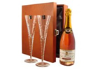 Champagne glass gift sets