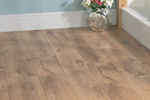Rustic oak laminate flooring
