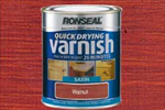 Ronseal wood varnish