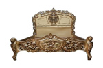 Antique French bed in gold
