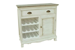 Country kitchen wine cabinet