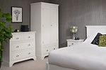 Hampton white bedroom furniture