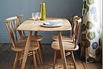 Ercol oak dining table and chairs
