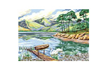 Landscape tapestry kit