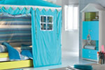 Boys tent bed