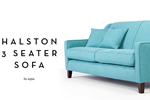 Halston 3 seater sofa