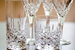 Dorchester cut glass glassware
