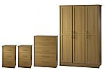 Walnut bedroom furniture package