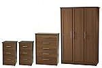 Oak effect bedroom furniture package