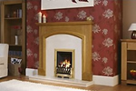 Be Modern fire surround and gas fire