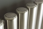 Designer steel radiators
