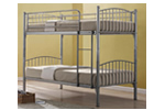 Childrens metal bunkbed
