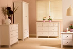 Cream bedroom furniture