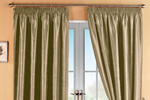 Luxury plain curtains