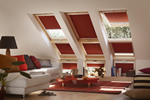 Velux window black outblinds