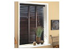 Venetain wood blinds